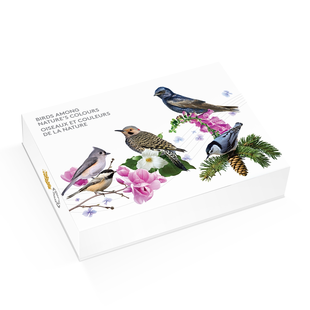 5 Coin Set BOX ONLY Canada 2017 $10 Birds Among Nature/'s Colours