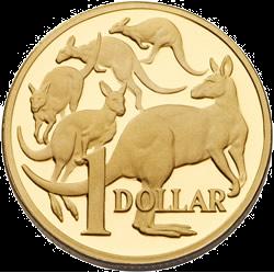 Australia-Five-Kangaroos-Design-1-Dollar