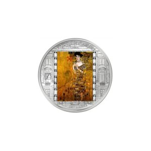 Cook Islands 2012 - 20$ Masterpieces of Art - Adele Bloch-Bauer - Gustav Klimt - 3 uncje Srebrna Moneta