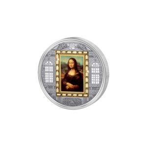 Cook Islands 2009 - 20$ Masterpieces of Art - Mona Lisa - Leonardo Da Vinci - Edycja specjalna