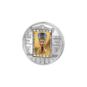Cook Islands 2012 - 20$ Masterpieces of Art - Popiersie Nefertiti - Edycja specjalna
