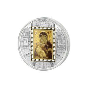 Cook Islands 2013 - 20$ Masterpieces of Art - Virgin Of Vladimir Theotokos - Edycja specjalna