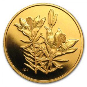 Kanada 2005 - $350 Kwiaty Kanady Lilia Filadelfijska - Złota Moneta