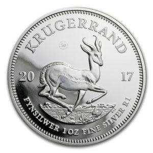 Republika Południowej Afryki 2017 - 1 Rand Krugerrand 50-lecie 1967-2017 - 1 Uncja Srebrna Moneta