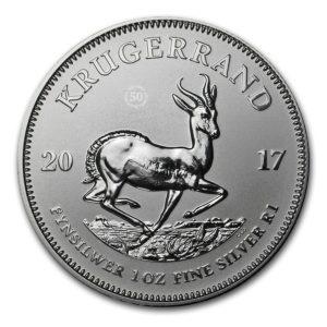 Republika Południowej Afryki 2017 - 1 Rand Krugerrand 50 Rocznica - 1 Uncja Srebrna Moneta PU