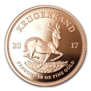 Republika Południowej Afryki 2017 - Krugerrand 50-Lecie 1967-2017 - 50 Uncji Złota Moneta