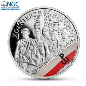Polska 2017 - 10 Złoty Wyklęci Przez Komunistów Żołnierze Niezłomni - Żołnierze Niezłomni NGC PF70 - Srebrna Moneta