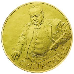 Wielka Brytania 2015 - £10 Winston Churchill - 5 Uncji Złota Moneta