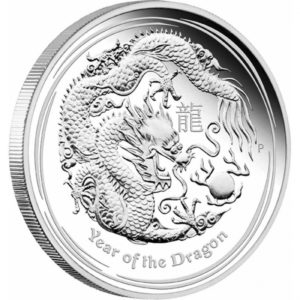 Australia 2012 - 30$ Chiński Rok Smoka - 1KG. Srebrna Moneta