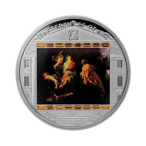 Cook Islands 2012 - 20$ Masterpieces of Art - Ucieczka do Egiptu - Peter Paul Rubens - 3 uncje Srebrna Moneta