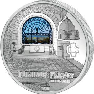 Cook Islands 2015 - 10$ Okna Niebios Kościół św. Mikołaja w Sztokholmie - Srebrna Moneta