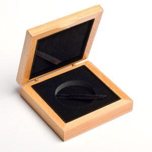 Etui - Dreniane Pudełko na 1 monetę do 45 mm