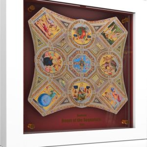 Wyspy Salomona 2016 - 8 x 5$ Opus Magnificum Stanze Watykańskie Rafael Santi - Srebrna Moneta