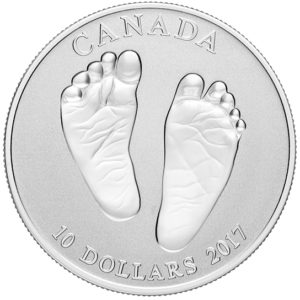 Kanada 2017 - 10$ Witamy w Świecie Prezent dla Dziecka - 1/2 Uncji Srebrna Moneta