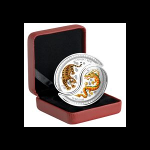 Kanada 2018 - 20$ Tygrys I Smok Yin And Yang - 1 Oz. Srebrna Moneta