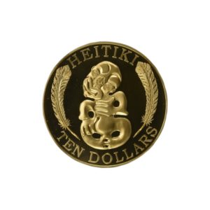 "Nowa Zelandia 2010 - 10$ Maori Art Heitiki ""2"" - 1 Oz Złota Moneta"