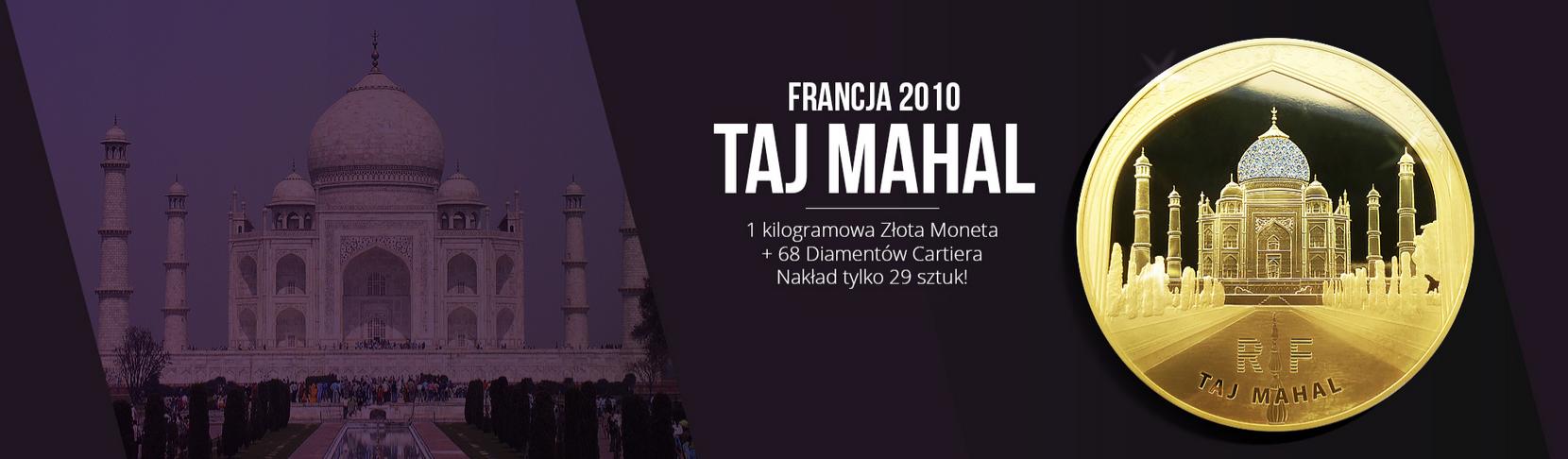 Francja_2010_5000_Euro_Taj_Mahal_68_Diam