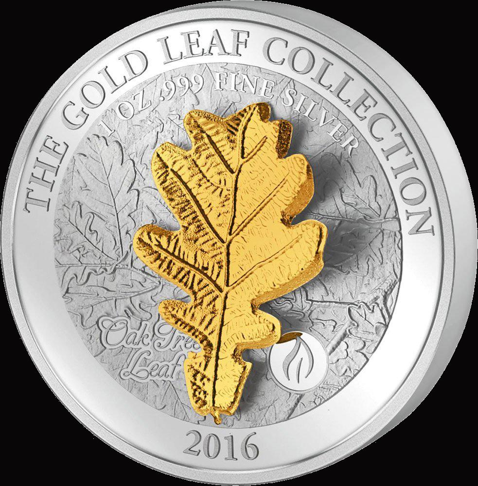 Samoa_2016_Gold_Leaf_Collection_3D_Oak_L