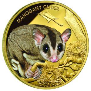 Niue Island 2015 - 100 $ Lotopałanka Karłowata - 1 uncja czystego złota