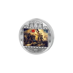 Cook Islands 2013 - 20$ Masterpieces of Art - Liberty Leading the People - Eugène Delacroix - 3 uncje Srebrna Moneta