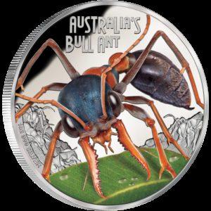 Tuvalu 2012 - 1$ Śmiertelne i Niebezpieczne - Pająk Funnel-Web - 1 oz. Srebrna Moneta