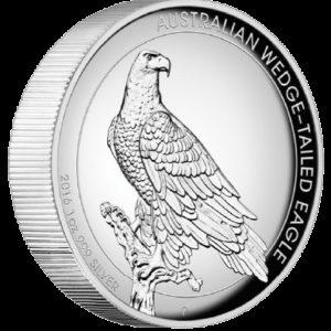 Australia 2016 - 1$ Orzeł Australijski - 1 Uncja Czystego Srebra Wysoki Relief