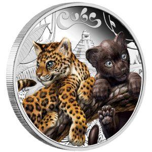 Tuvalu 2016 - 0,5$ Młode Jaguar - 1/2oz Srebrna Moneta