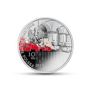 Polska 2018 - 10 Zł My Polacy Dumni I Wolni 1918 - 2018 - Srebrna Moneta