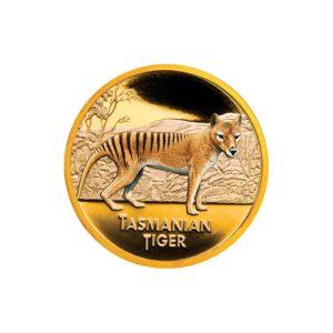 Niue Island 2011 - 100 $ Tygrys Tasmański - 1 uncja złota