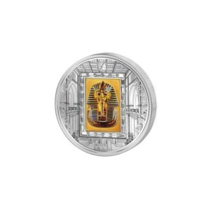 Cook Islands 2011 - 20$ Masterpieces of Art - Faraon Tutanchamon - Złota Maska - Edycja specjalna