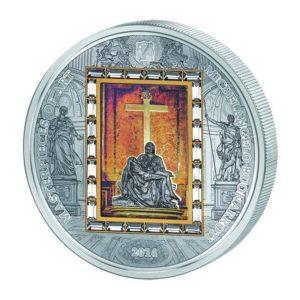 Cook Islands 2013 - 20$ Masterpieces of Art - Virgin Of Vladimir Theotokos - Edycja specjalna