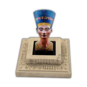 Solomon Islands 2013 - 25 Rzeźby Sztuki Popiersie Nefertiti - 3oz. Srebrna Moneta