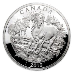 Kanada 2014 - 500$ Kanadyjskie Zabytki Pomnik Weteranów Aborygeni - 5 Kilo Srebra