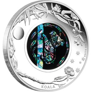 Australia 2012 - 1$ Opal Series Koala - 1 oz. Srebrna Moneta