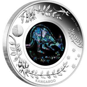 Australia 2013 - 1$ Opal Series Kangur - 1 oz. Srebrna Moneta