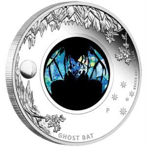 Australia 2015 - 1$ Opal Series Nietoperz - 1 oz. Srebrna Moneta