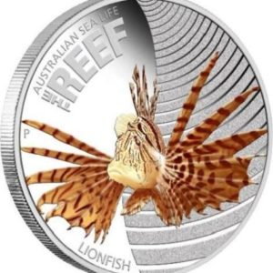 Australia 2009 - Sea Life I - The Reef Skrzydlica - 1/2 oz. Srebrna Moneta