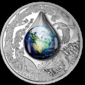 Kanada 2016 - 20$ Matka Ziemia - 1 oz Srebrna Moneta