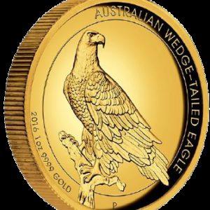 Australia 2016 - 100$ Orzeł Australijski - 1 Uncja Czystego Złota Wysoki Relief