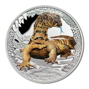 Australia 2016 - 1$ Gady Australii Waran - 1 Uncja Srebrna Moneta