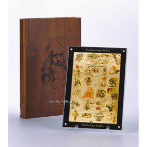 Niue 2011 - 24$ Leonardo Da Vinci Kodeks Specjalne Wydanie - 1 Kg Srebrna Moneta